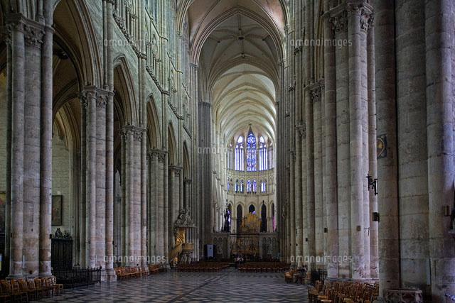 アミアン大聖堂の内部[258260258...