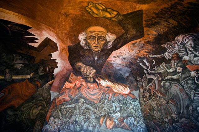 ミゲル・イダルゴの肖像壁画[258...