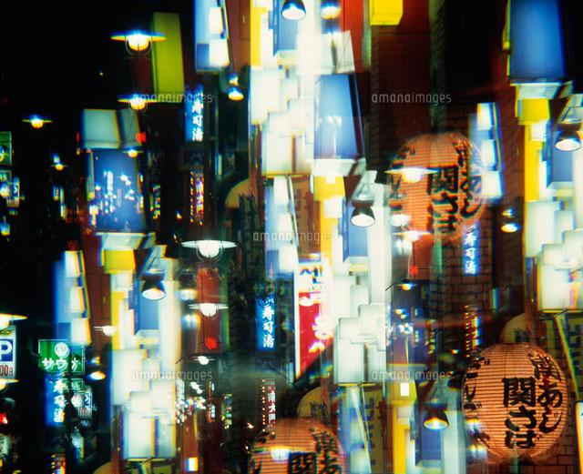 赤坂界隈のネオン街 イメージ25867017168の写真素材イラスト素材