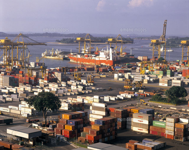 シンガポール港