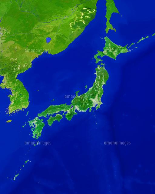 日本列島 大陸付[25982000256]|...