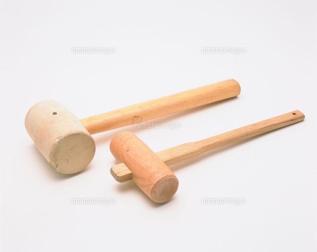 大工道具 木ヅチゴムヅチ25996000827の写真素材イラスト素材