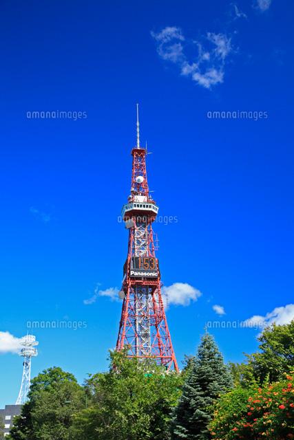 札幌テレビ塔25998001423の写真素材イラスト素材アマナイメージズ