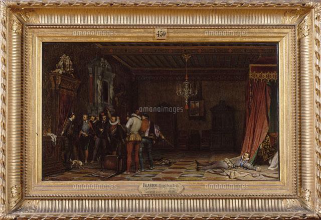 ギーズ公の暗殺ブロワ城1588年[26004016850]の写真素材・イラスト素材 ...