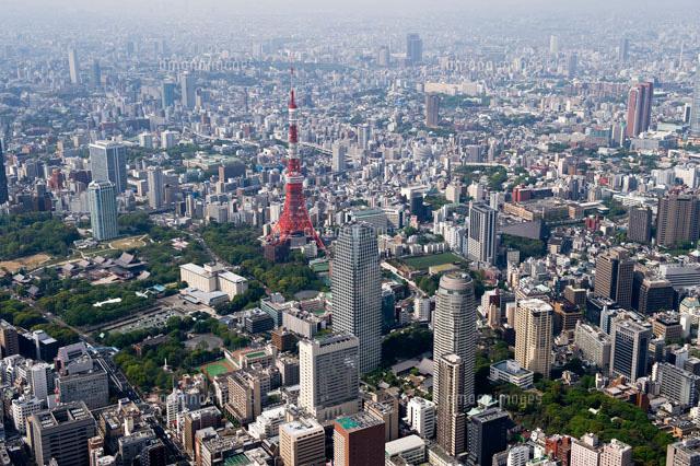 東京タワー周辺[26058007041]の写真素材・イラスト素材|アマナ ...