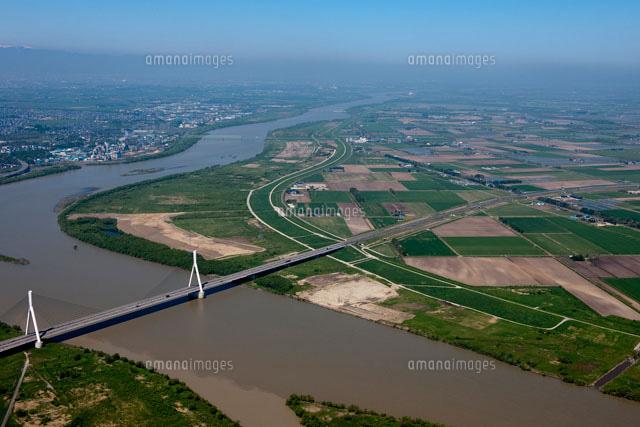石狩川とR337美原大橋[260580102...