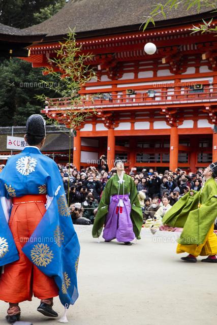 下賀茂神社蹴鞠始式26089005974の写真素材イラスト素材アマナ