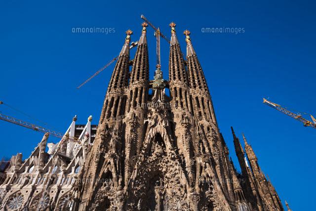 サグラダファミリア聖堂26095005063の写真素材イラスト素材