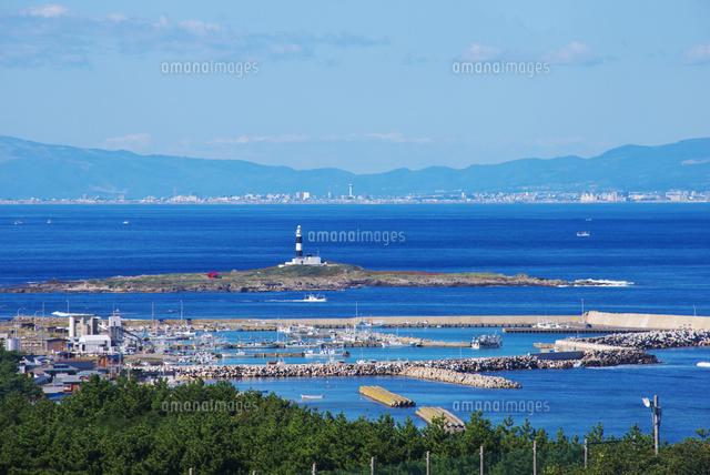 大間崎と弁天島と函館市街地[261...