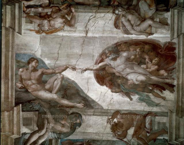 アダムの創造[26144000060]の写...