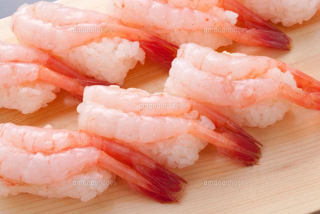 甘海老のにぎり寿司26158000713の写真素材イラスト素材アマナ
