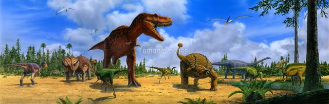 白亜紀後期:北アメリカの恐竜[3...