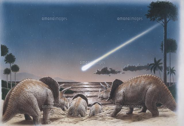 恐竜の絶滅:隕石の衝突とトリケ...
