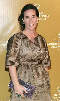 Designer Kate Spade poses at the 2006-2007 Rolex Mentor-Protege Arts Initiative Dinner at the The Ne