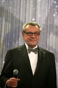 Director Milos Forman attends the opening ceremony of the 7th International Marrakech Film Festival