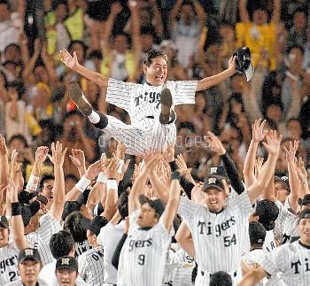 星野仙一監督/阪神V プロ野球【要事前申請】