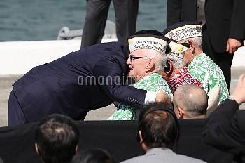 【要事前申請】元米兵と安倍首相 ハワイ・真珠湾
