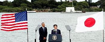 【要事前申請】安倍首相、所感発表 真珠湾訪問