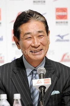 【要事前申請】星野仙一氏 野球の日本代表監督に就任 北京五輪出場目指す
