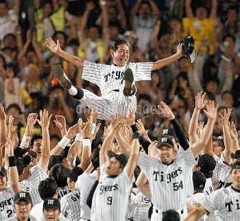 【要事前申請】星野仙一監督/阪神V プロ野球