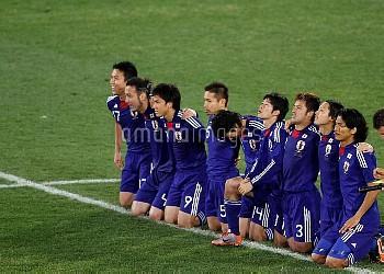 JAPAN PLAYERS DURING SHOOT OUTPARAGUAY V JAPANPARAGUAY V JAPAN, FIFA WORLD CUPLOFTUS VERSFELD STADIU