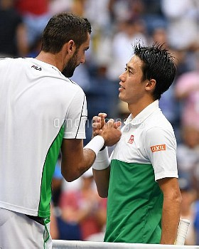 Tennis players compete during day 10 of the US Open **NO NY NEWSPAPERS**