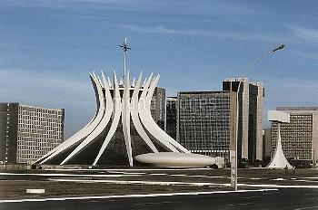 DGA419233 Cathedral of Brasilia (photo); Brasilia, Brazil; (add.info.: Catedral Metropolitana Nossa