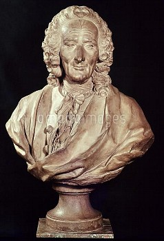 XIR247259 Bust of Jean-Philippe Rameau (1683-1764) 1760 (stone) by Caffieri, Jean-Jacques (1725-92);