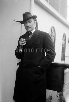 RAR1078513 Karol Szymanowski, c.1924 (b/w photo) by .; Private Collection; (add.info.: Karol Maciej