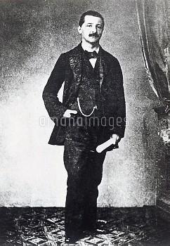 DGA768063 Portrait of Anton Bruckner (Ansfelden, 1824-Vienna, 1896), Austrian composer; (add.info.:
