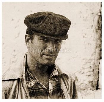 DGC3428964 Portrait of Jack Kerouac (photo); Private Collection; (add.info.: Jack Kerouac (1922 –