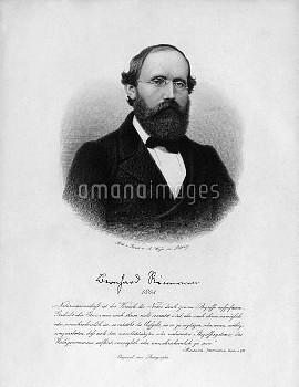 ベルンハルト・リーマン Bernhard Riemann (1826 - 1866)