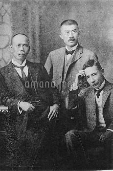 夏目漱石 小説家 英文学者 漱石 犬塚信太郎 中村是公 大正元年9月