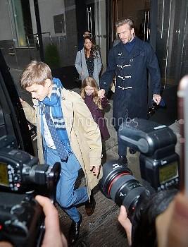 David Beckham, and kids Brooklyn Beckham, Romeo James Beckham, Harper Seven Beckham, Cruz Beckham he