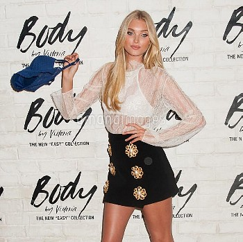 Elsa Hosk at the launch of the all-new Easy collection at the Victoria's Secret Soho Store in NYC