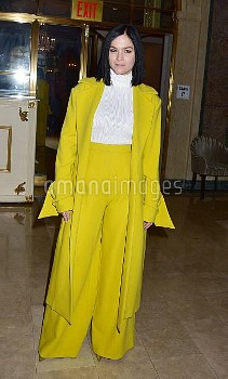 Leigh Lezark at the Christian Siriano Show during NY Fashion Week