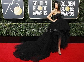 Kendall Jenner at the 75th Annual Golden Globe Awards at The Beverly Hilton Hotel in Beverly Hills