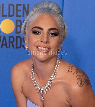 Lady Gaga attends The 76th Annual Golden Globe Awards - Press Room in Los Angeles