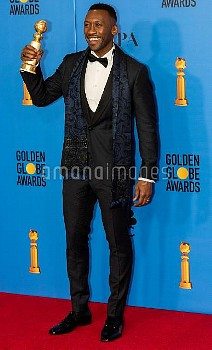 Mahershala Ali attends The 76th Annual Golden Globe Awards - Press Room in Los Angeles