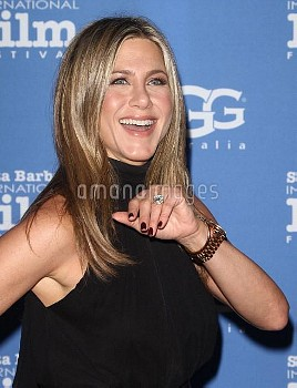 The Montecito Award To Jennifer Aniston in Santa Barbara