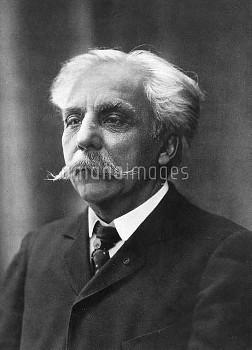 GABRIEL URBAIN FAURÉ (1845-1924). French composer.