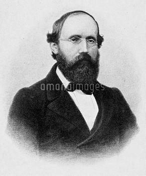 BERNHARD RIEMANN (1826-1866). George Friedrich Bernhard Riemann. German mathematician. Reproduction