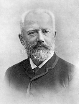 PETER ILICH TCHAIKOVSKY (1840-1893). Russian composer.