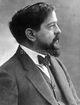 CLAUDE DEBUSSY (1862-1918). French composer. Photographed by Nadar.
