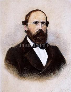 BERNHARD RIEMANN (1826-1866). Georg Friedrich Bernhard Riemann. German mathematician: engraving, Ger