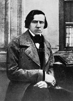 FREDERIC CHOPIN (1810-1849). Polish composer and pianist. Photographed in 1849.