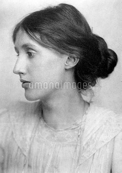 VIRGINIA WOOLF (1882-1941). English writer; photographed in July 1902 by George Charles Beresford.