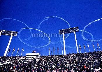 オリンピック  第18回東京大会(日本 1964年) 開会式  クレジット:フォート・キシモト   Olympic Games  The 18th Tokyo(JPN 1964) Opening Ce