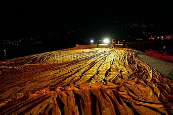 *** Special Conditions *** Christo and Jeanne-Claude, The Floating Piers, Project for Lake Iseo, Ita