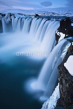 Godafoss Waterfall and Skjalfandafljot River, Iceland